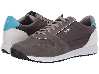 BOSS Hugo Boss Sonic Run Sneaker By BOSS (Medium Grey) Men