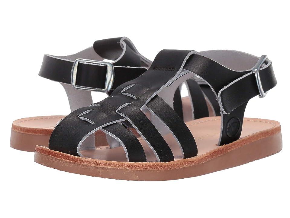 Freshly Picked Bixby Sandal (Infant/Toddler/Little Kid) (Ebony) Kids Shoes