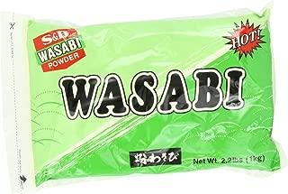 S&B Wasabi Powder, 2.2-Pound
