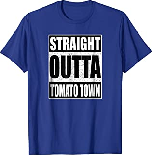 Straight Outta Tomato Town - Funny Gamer T-Shirt