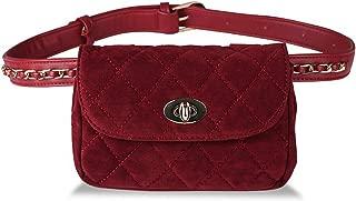 Fashion Leather Waist Bag Women Fanny Chest Bag Pack Femal Plaid Belt Bags Hip Money Travel Phone Pouch Bags