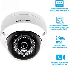 HIKVISION DS-2CD2142FWD-I 4mm, 4MP WDR IP Network Dome Security Surveillance Camera