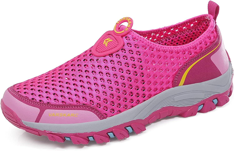 VARSKARC Women's Quick Drying Aqua Water Shoes Outdoor Hiking Shoes Sports Shoes