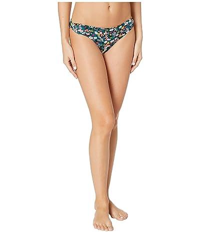 Roxy Print Beach Classics Regular Swim Bottoms (Anthracite Bouquet) Women