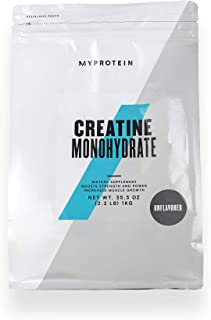 Myprotein® Creatine Monohydrate, Unflavored, 2.2 Lb (200 Servings)