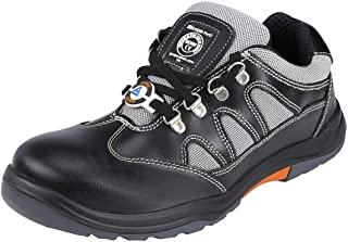 Acme SinX Leather Safety Shoes (Size-44)