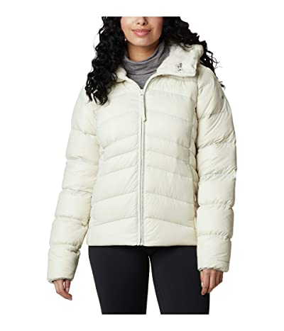 Columbia Autumn Park Down Hooded Jacket (Chalk) Women