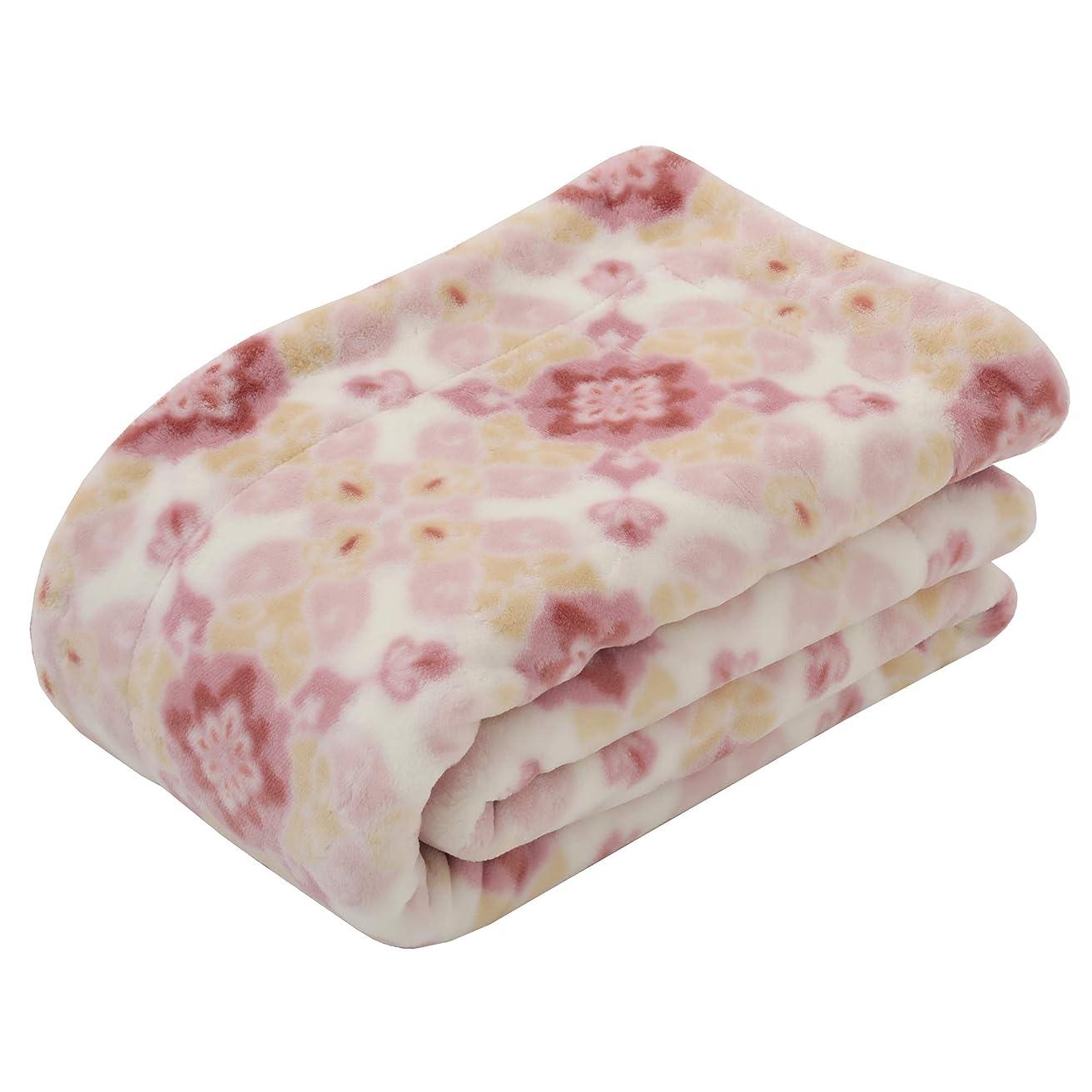浜辺シャイニング神の東京西川 毛布 ピンク シングル 日本製 ぽかぽか すべすべ ルミディ オーナメント FQ08100022P