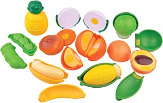 Slice a riffic Vegetable Play Set With 19 Pcs Set