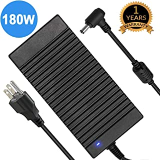 180W Asus MSI Laptop Charger,19.5V 6.3A-9.23A 180W Power Adapter for Asus G55 G70 G750 G750JM G751JM G750JS; MSI:GS65 GT60 GT70 GE60 GE62 GE70 GP62 GP72 GX600 GX620 GX630 GX633 GX640 GX660 GX680