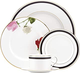 Kate Spade New York 854333 Rose Park 5 Piece Place Setting