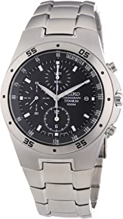 SE-SND419 Titanium Chronograph 100M WR Watch