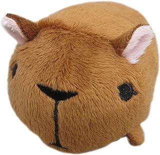 Sanei Noru N Zoku Mini Stackable Animal Stuffed Plush - Capybara Stuffed Plush, 3
