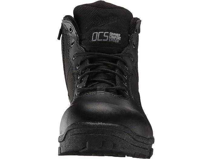 Danner Mens Lookout Side-Zip 8 Black Military /& Tactical Boot