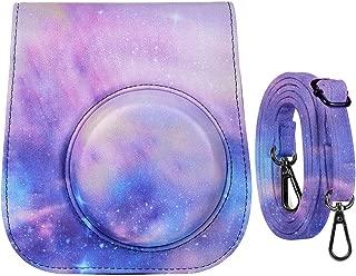 Katia Camera Case Bag Compatible for Fujifilm Instax Mini 9/ Mini 8+/ Mini 8 Instant Film Camera with Shoulder Strap and Photo Accessories Pocket - Galaxia