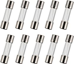 BOJACK 5x20 mm 4 A 4 amp 125 V 125 Volt 0.2x0.78 Inch F4AL125V Fast-Blow Glass Fuses(Pack of 10 Pcs)