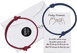 KINGSIN Couples Bracelets Magnetic Mutual Attraction Relationship Matching Bracelet for Women Men Lover Best Friend
