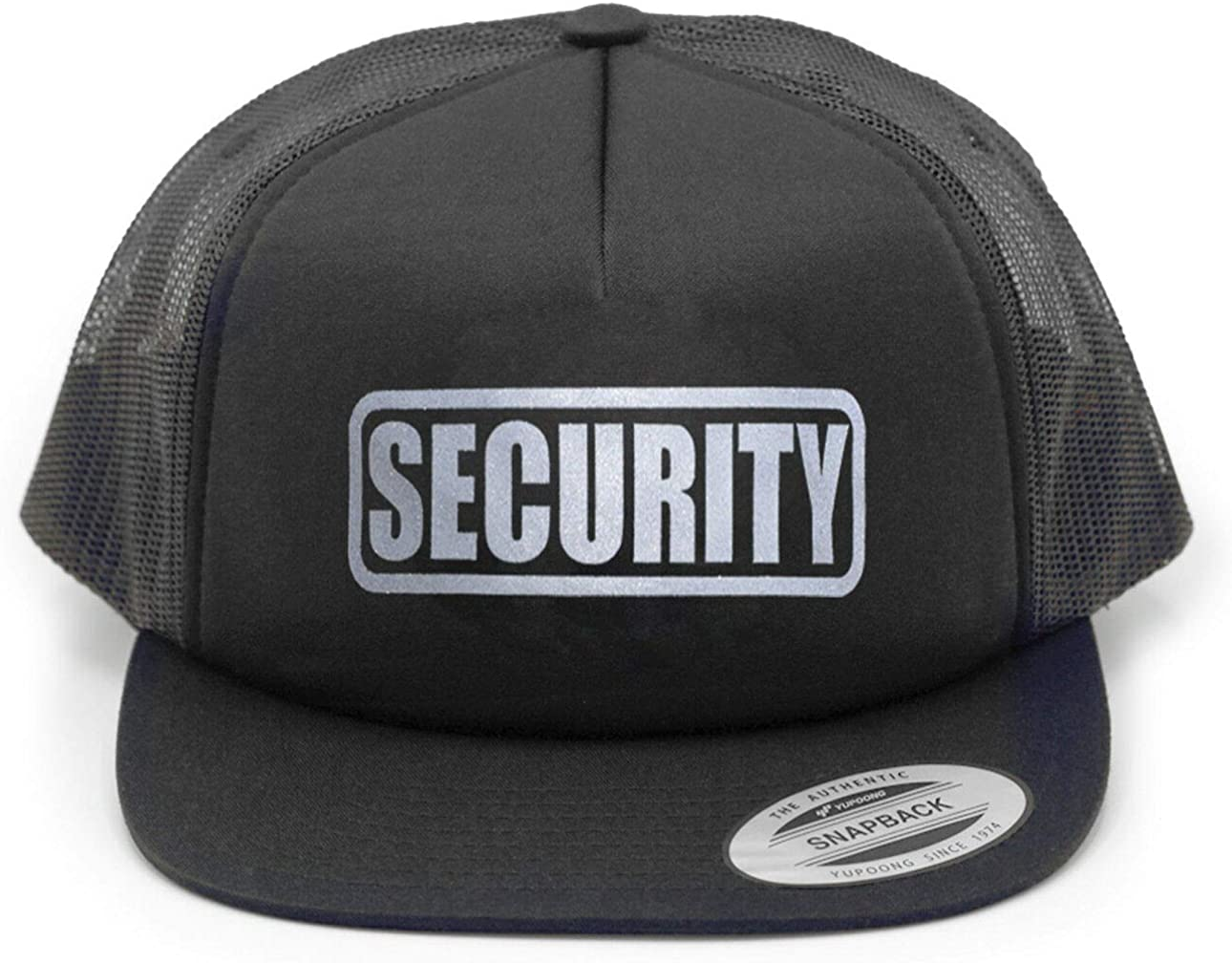 Conspiracy Tee Security Hat Party Securi trend rank Ranking TOP17 Bouncer Cap