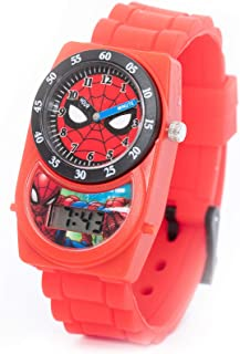 Marvel Spiderman Boys Ana-Digi Dial with In Pack Wristwatch - TRHA4142