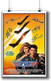Best top gun signed poster Reviews