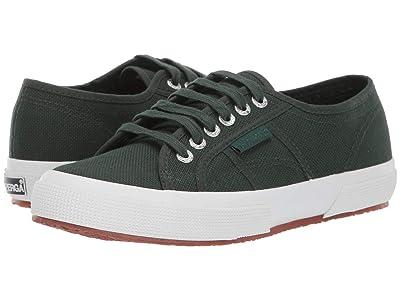 Superga 2750 COTU Classic Sneaker (Dark Green) Women