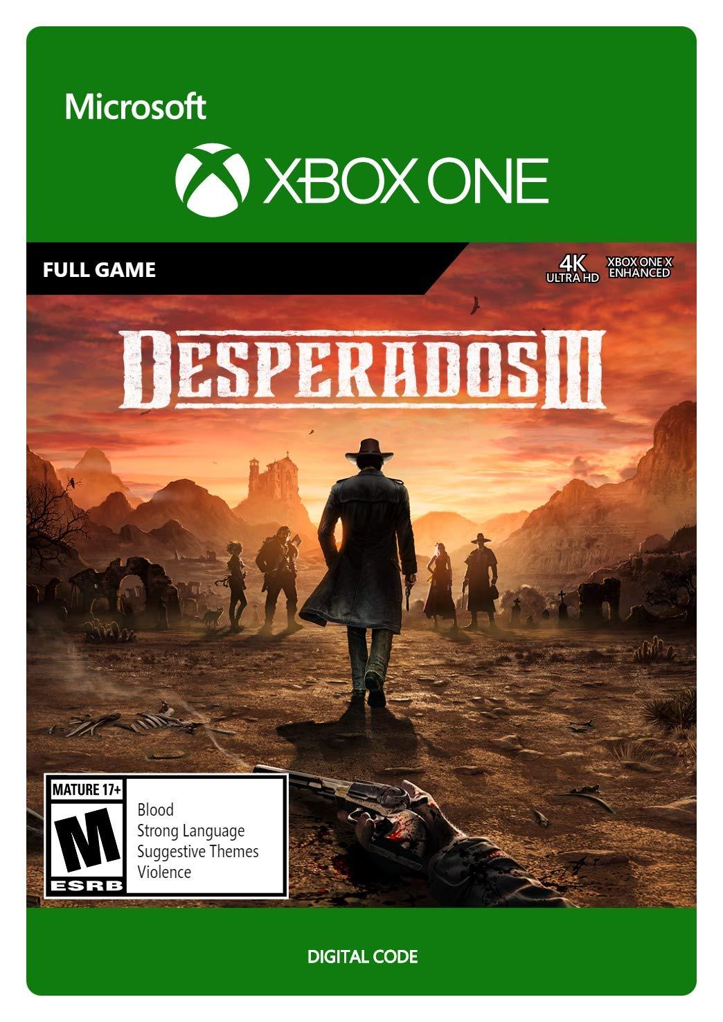 Desperados III Regular store Standard - One Code Xbox Max 50% OFF Digital