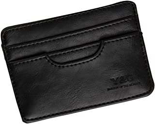 Y&G Men's Fashion Mens Slim Card Holder More Color Available Come With a gift Box