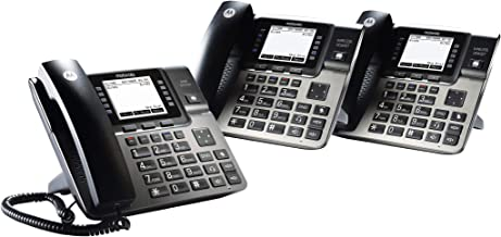 $230 » Motorola ML1002D DECT 6.0 Expandable 4-line Business Phone System with Voicemail, Digital Receptionist and Music on Hold, ...