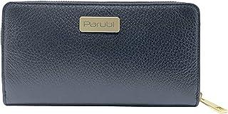Parubi, Portafoglio Donna, In Vera Pelle Grana Dollaro, Made in Italy, Modello Cloe, Portafoglio Porta Carte di Credito Po...