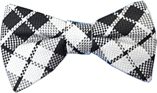 Navy Blue Countess Mara Mens Americana Stars Pre-Tied Bow Tie