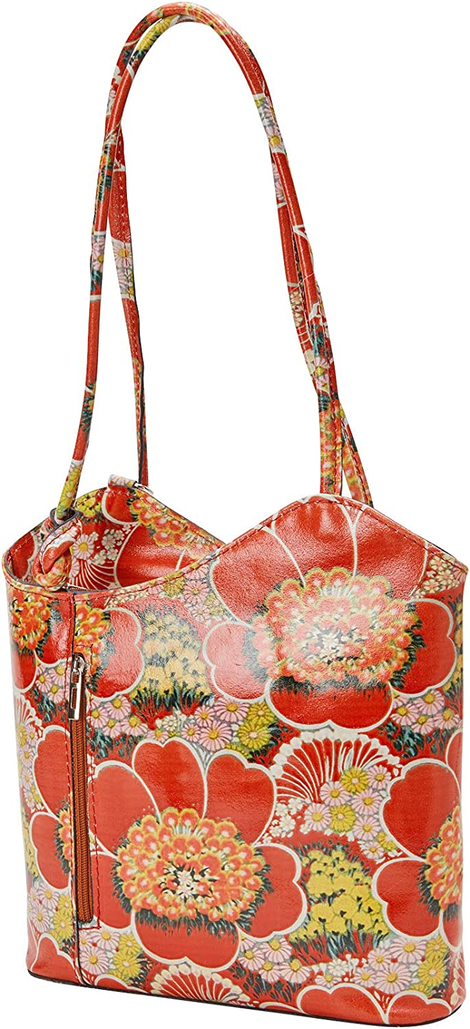 Joe Browns Womens Floral Leather Tote Bag