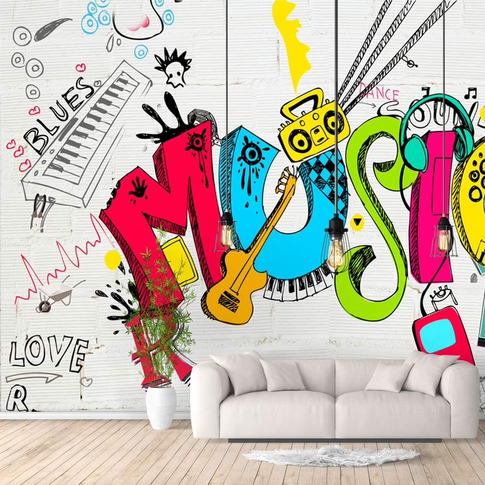 Large-scale sale 5 ☆ very popular IDEA4WALL Wall Murals for Bedroom Collection R Street Art Banksy