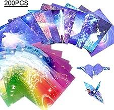 Flugzeuge Tiere Hileyu Origami Papier 15X15cm Origami-Papier f/ür Sterne Flugzeuge 120 Bl/ätt Doppelseitiges Origami Papier DIY Handwerk Origami Papier
