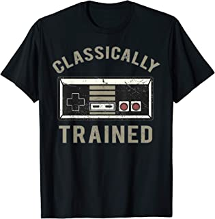 Retro Gamer - Classically Trained - Funny T-Shirt