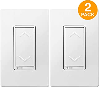 TOPGREENER Smart Dimmer Switch, UL Listed, Neutral Wire Required, Single Pole, No