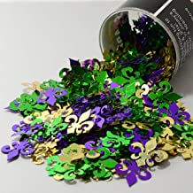 Confetti Fleur De Lis Mardi Gras Mix - Retail Pack #9547 QS0