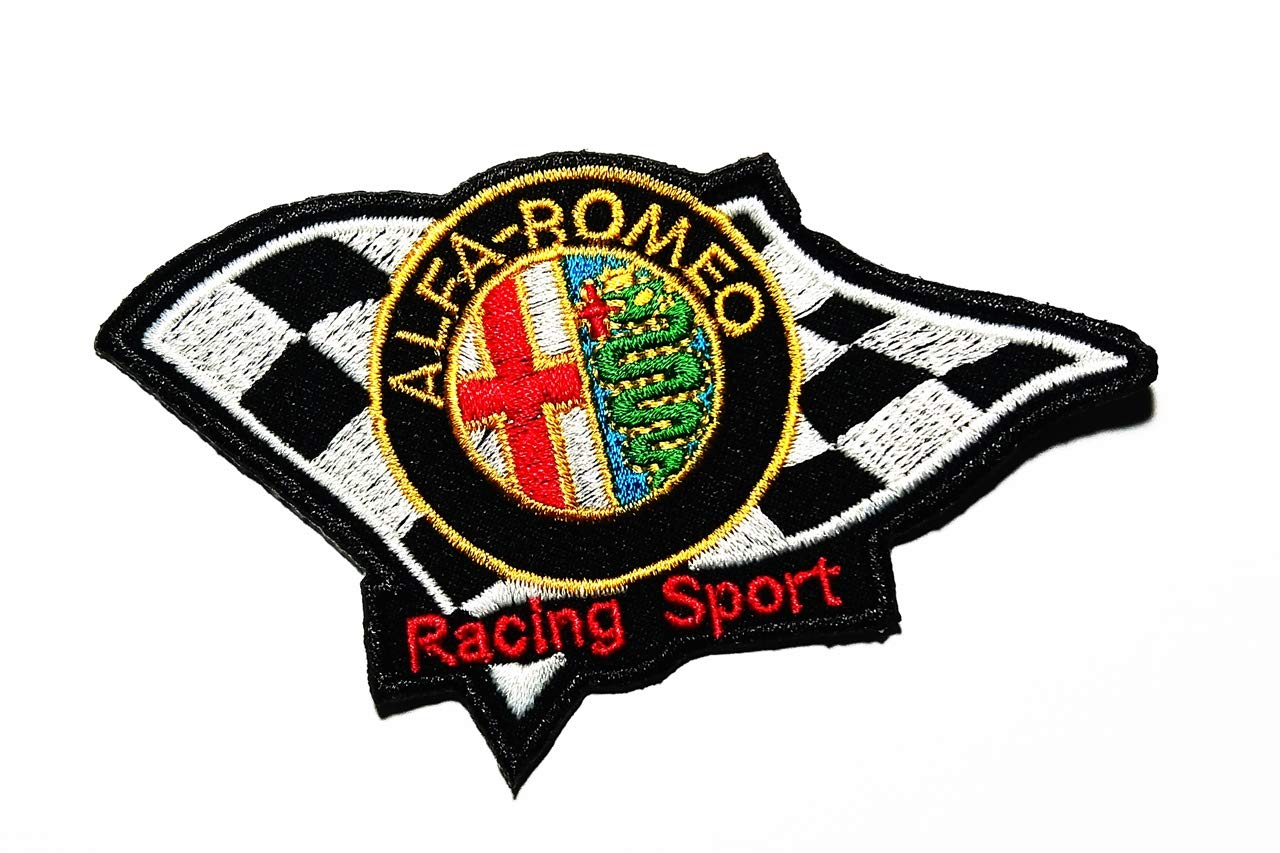 is an Italian Luxury car Manufacturer Manufacture Expensive Sports Cars and Motorsport Competition Racing Sport Logo Patch Embroidered Sew Iron On Patches Badge Bags Hat Jeans Shoes T-Shirt Applique