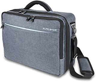 Elite Bags - Care Bag for Medical Supplies and Utensil Equipment, Size 40 x 30 x 16 cm, Weight 2100 g, Color Black/Grey