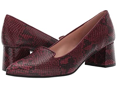 French Sole Eden (Red Snake) High Heels