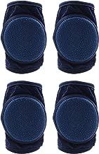 CalMyotis Baby Knee Pads, Adjustable Crawling Kneepads, Unisex Anti-Slip Breathable, 2 sets
