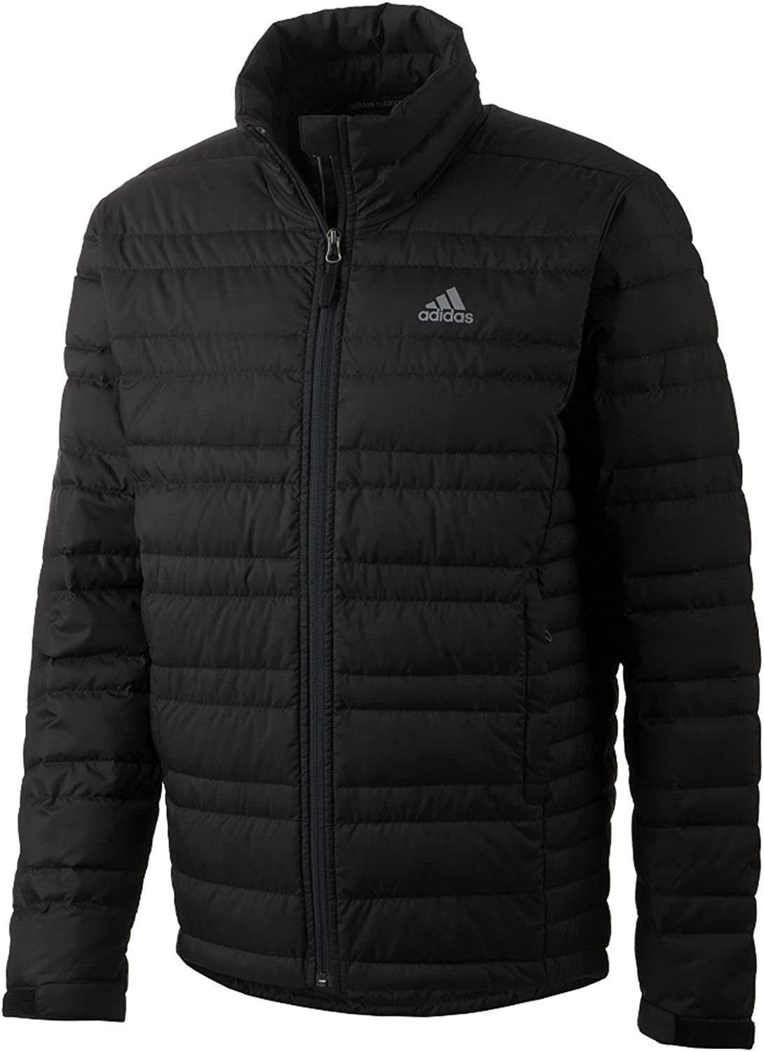 Adidas Outdoor Hike Light Down Jacket 2  Men's Black  Small