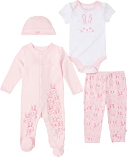absorba Baby Girls` Coverall and Pants Set
