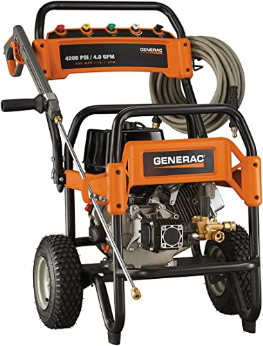 popular Generac 6565 4,200 new arrival PSI 4.0 GPM 420cc OHV Gas Powered outlet online sale Commercial Pressure Washer sale