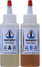 Brampton Marine Epoxy Strong Bonding for Boat Repair - Bonds in 30 Minutes, Water Resistant, 4 Ounces
