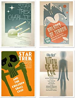 QMX Star Trek: The Original Series Art Prints Set 2