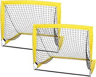 WEKEFON Soccer Goal Portable Soccer Nets for Backyard...