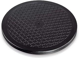 Hama - Plataforma giratoria universal redonda, 25,5cm, carga de 60kg (ideal para TV, altavoces, monitores y utensilios d...