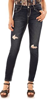 Women's Juniors Basic Legendary Stretch Skinny Denim Jeans (28-30-32