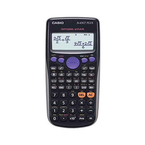 Casio FX-83GTPLUS Calculatrice scientifique (Import Royaume Uni)