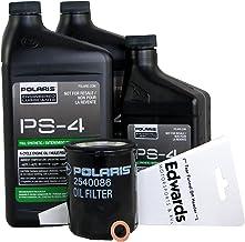 Polaris OEM PS-4 Oil Change Kit for 2018 Ranger XP 900